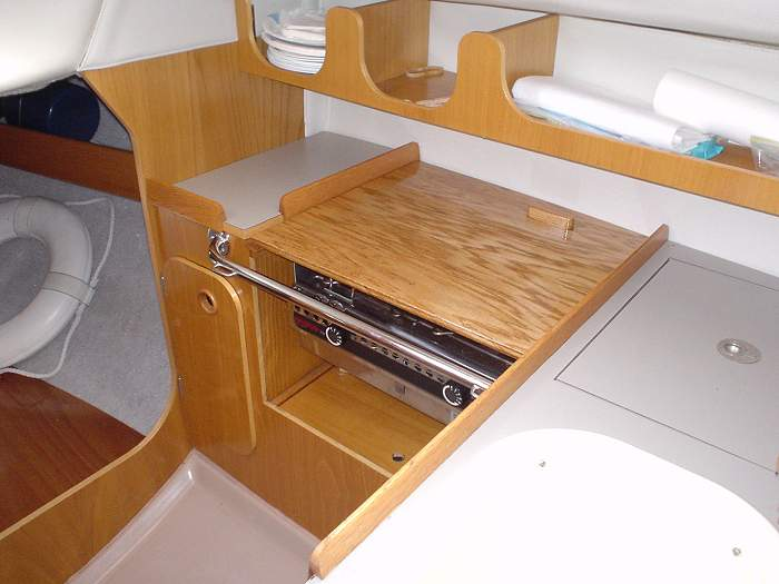 Beneteau F24 Countertop Cutting Board | title